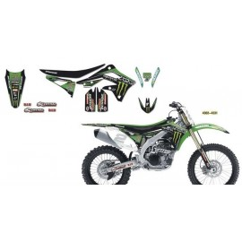 Set Grafik Monster Energy Kawasaki Racing Team