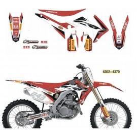 Set grafik Team Honda Gariboldi
