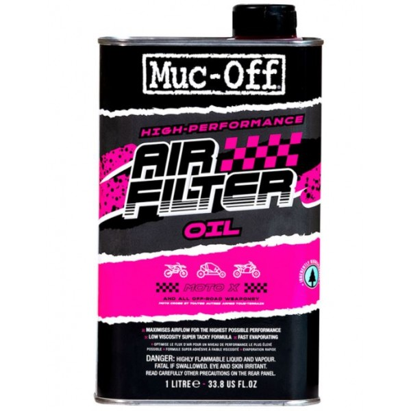 Muc Off BIO Air Filter Oil 1L - biološko razgradljivo olje za zračni filter