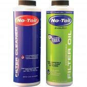 No Toil pack Filter Cleaner in Filter Oil (olje za mazanje filtra, čistilo za čiščenje filtra)