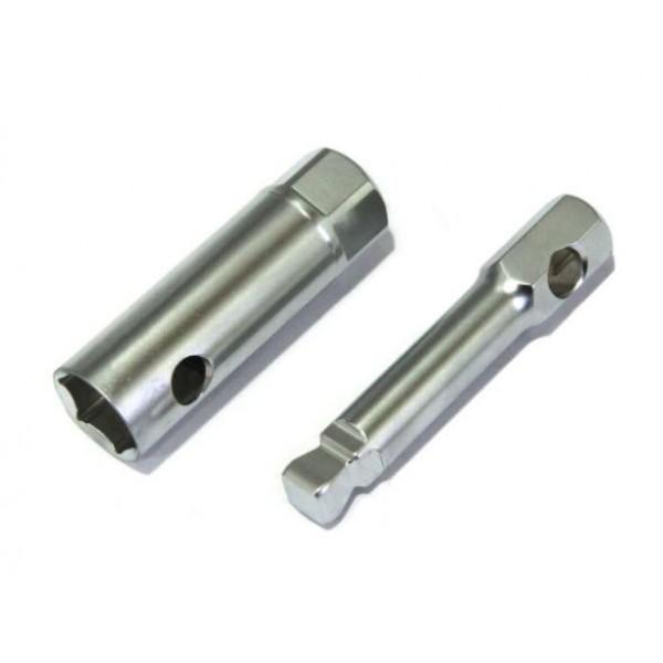 Ključ za svečko 16mm s podaljškom