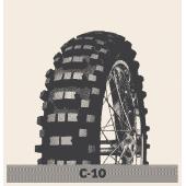 Pnevmatika MITAS 120/90-18 65M C10 Speedy Croc TT