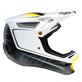Downhill čelada 100% Aircraft MIPS Bi-Turbo White