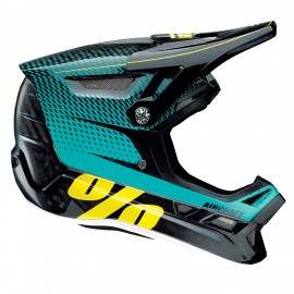 Downhill čelada 100% Aircraft MIPS R-Core Teal