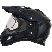 Enduro Multi zimska moto čelada AFX FX-41DS Gloss Black (Snow Double Lens)