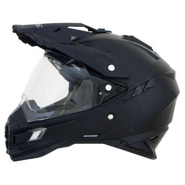 AFX FX-105 Solid Full Face Motorcycle Helmet Hi-Viz Yellow