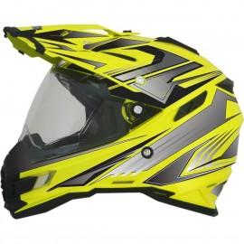 Enduro / Multi moto čelada AFX FX-41DS Multi Hight Vision Yellow