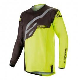 Moški motokros dres ALPINESTARS Techstar Factory Black Fluo Yellow