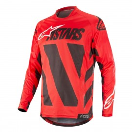 Moški motokros dres Alpinestars Racer Braap Black Red White