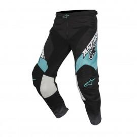 Moške motokros hlače ALPINESTARS Racer Supermatic Black/Dark Gray/Teal