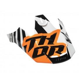 Šilt motokros čelade THOR Verge Dazz Orange White