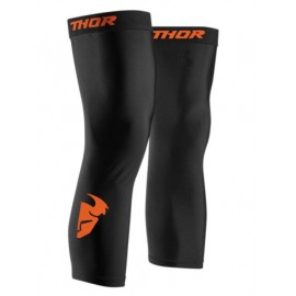 THOR Comp Knee Sleeve Black Red Orange