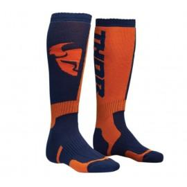 Nogavice za motokros Thor S8 Navy Orange