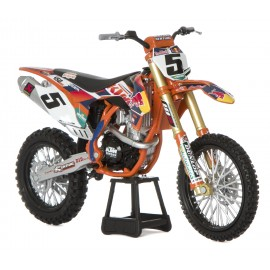 Modelček motor 1:10 RED BULL KTM FACTORY RACING TEAM RYAN DUNGEY #5