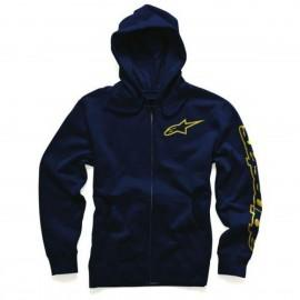 Pulover s kapuco - Hoodie ALPINESTARS Tracer Navy