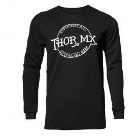 T-Shirt majica dolg rokav THOR Whiskey Thermal Black