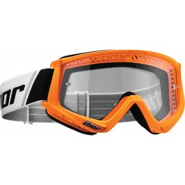 Motokros očala THOR Combat Flo Orange Black