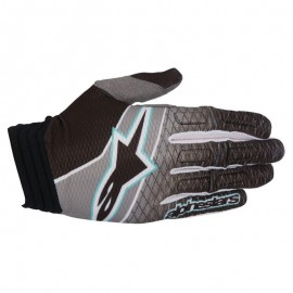 Moto rokavice ALPINESTARS AVIATOR BLACK/DARK GRAY/TEAL