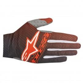 Moto rokavice ALPINESTARS Dune-1 S8 Fluo Orange Dark Blue