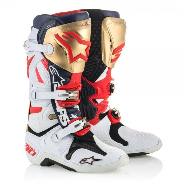 Motokros škornji Alpinestars Tech 10 Limited Liberty