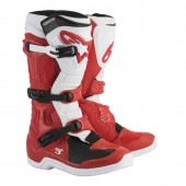 Motokros škornji Alpinestars Tech 3 Red White