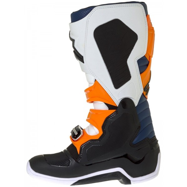 Motokros škornji Alpinestars Tech 7 Black Orange White Blue