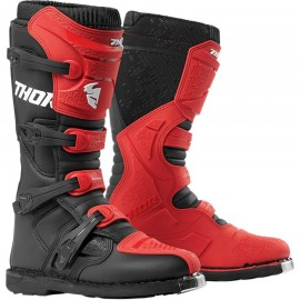 Motokros škornji THOR Blitz XP Red Black