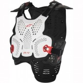 Zaščita trupa ALPINESTARS A-4 White Black Red