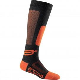 Zimske tople moto nogavice ARCTIVA Insulator Black Orange