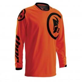 Motokros dres Thor Phase Gasket Flo Orange/Black