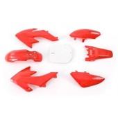 Set plastik CRF50 rdeče barve