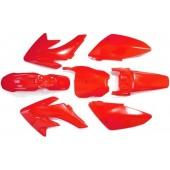 Set plastik CRF70 rdeče barve