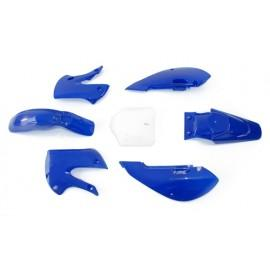 Set plastik KLX modre barve