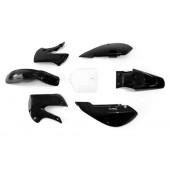 Set plastik KLX črne barve