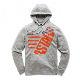 Otroški pulover s kapuco - Hoodie ALPINESTARS Bigun Heather Grey