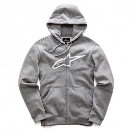 Pulover s kapuco - Hoodie ALPINESTARS Ageless Fleece Grey Heather