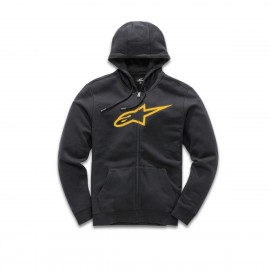 Pulover s kapuco - Hoodie ALPINESTARS Ageless II Fleece Black Gold
