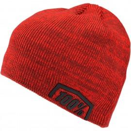 Zimska kapa 100% Essential Skully Fit Red