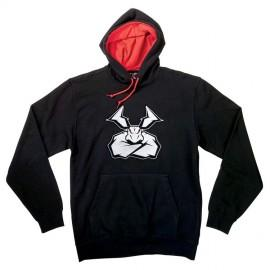 Pulover s kapuco - Hoodie MOOSE RACING Agroid Patch