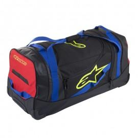 Potovalna moto torba ALPINESTARS Komodo Travel Bag Black Blue Red Fluo Yellow