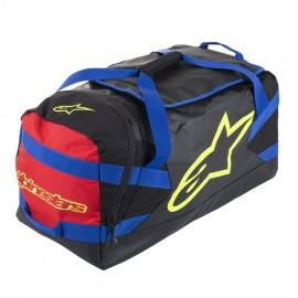 Torba za moto opremo ALPINESTARS Goanna Duffle Bag Black Blue Red Fluo Yellow