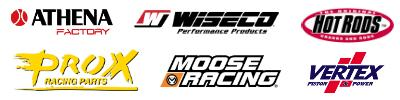 athena, wiseco, prox, moose racing, vertex, hot rods,