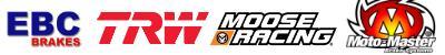 ebc brakes, trw, moose racing, moto master,